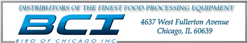 Distributors of the finest food processing equipment in the Midwest.